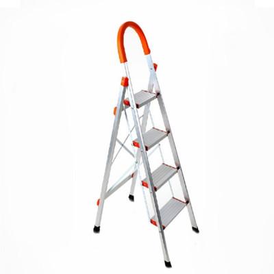 加厚不鏽鋼/鋁合金四層家用梯-A字梯 馬椅梯 (5.5折)
