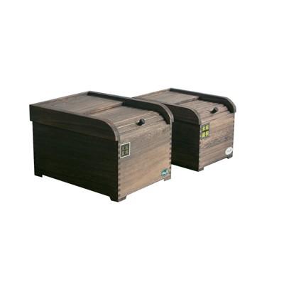 桐木實木米箱~日式米缸~驅蟲除濕防潮~美觀大方~5kg裝 (5折)