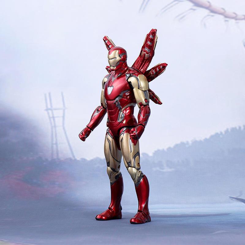 阿莎力  復仇者聯盟4 終局之戰 鋼鐵人 mk85 馬克85 7吋可動人偶 正版授權