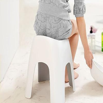 日本ASVEL沐浴專用40公分安全坐椅(白色) (8.2折)