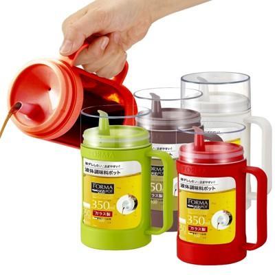 日本ASVEL油控式350ml調味油手提玻璃壺 (6.9折)