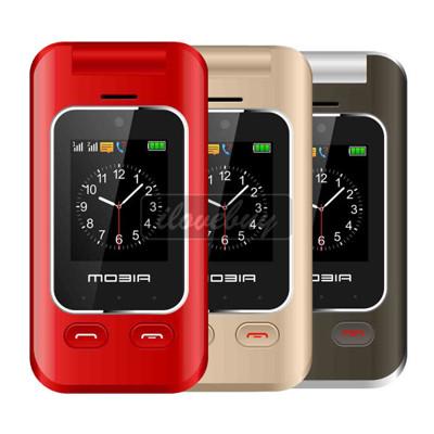MOBIA M800 3G折疊雙螢幕手機 摩比亞 老人機 孝親機 字大 鈴聲大 長輩機 備用機 (6折)