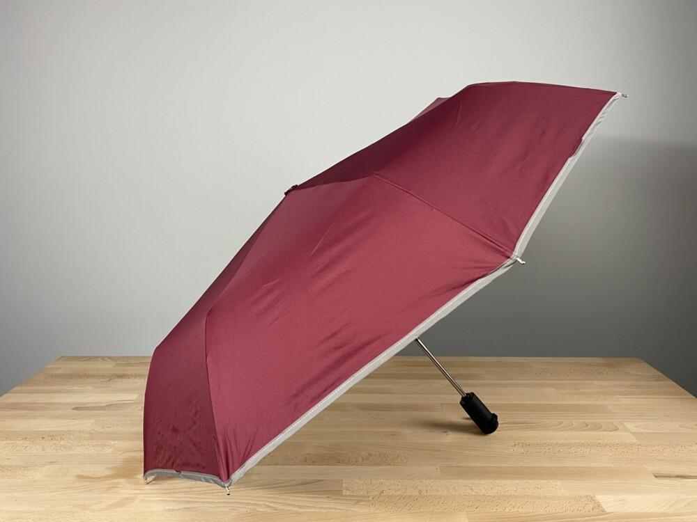 素面反光抗uv自動開收折傘/晴雨傘/雨傘/傘