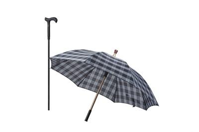第一把通過CNS認證專利分離式防風手杖傘/拐杖傘 (7.4折)