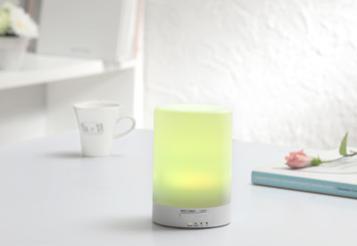 Warm燈控/定時超音波負離子水氧機(W-116七彩燈)+ANDZEN 精油X3瓶 (5.9折)