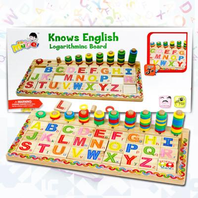 【funKids】兒童-木製ABC蒙氏配對學習認知組 (8.6折)