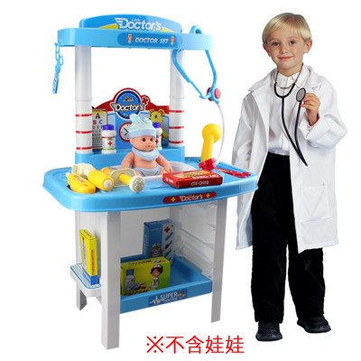 【funKids】兒童手提式-醫生診療箱遊戲組 (7.5折)