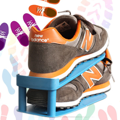 【inBOUND】日系達賀可調式便利省空間收納鞋架(6入組)IS013 (1.3折)