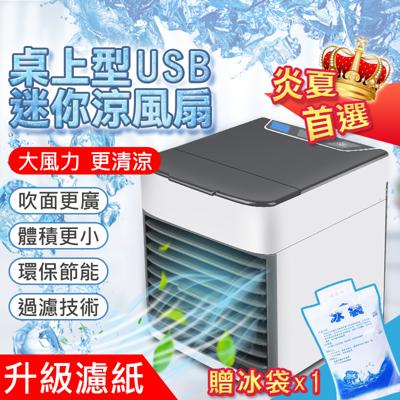 魔小物新升級usb可攜帶式霧化水冷扇/移動式冷氣/冷氣(贈保冰袋) (1.8折)