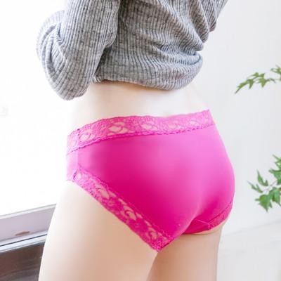 [ATUM] 鋅添加抗菌抗敏低腰三角褲蕾絲款 (2.3折)