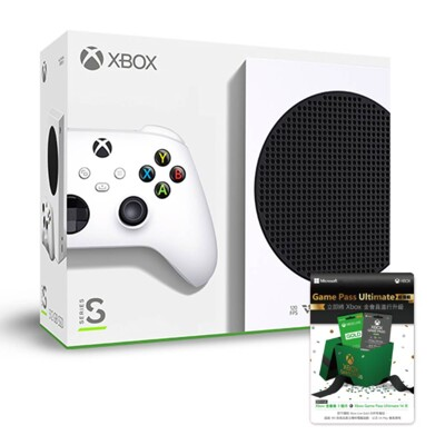 【XBOX】Xbox Series S 主機 512GB + 金會員 Game Pass (10折)