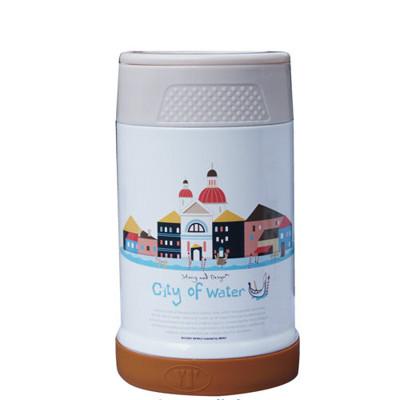 【S&D】唯美風景真空食物罐500CC SD-500-水上城市 (7.6折)