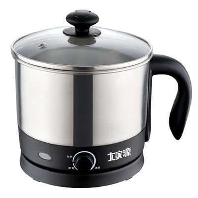 【大家源】304不鏽鋼1.2L多功能蒸煮美食鍋TCY-2741 (7.7折)