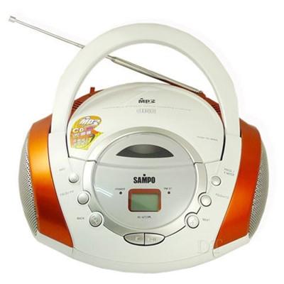 《SAMPO》手提CD音響 AK-W709ML (5.3折)