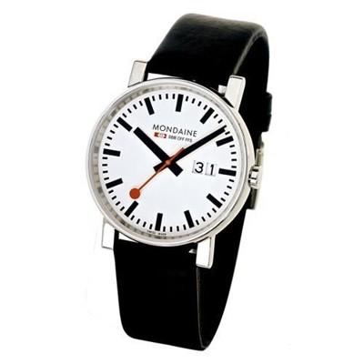 《Mondaine》瑞士國鐵時光走廊 -4cm 腕錶 (8.6折)