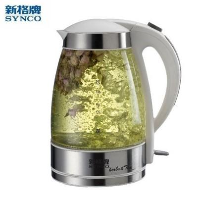 《新格》花茶玻璃電茶壺 -1.7L (SEK-1706ST) (7.2折)