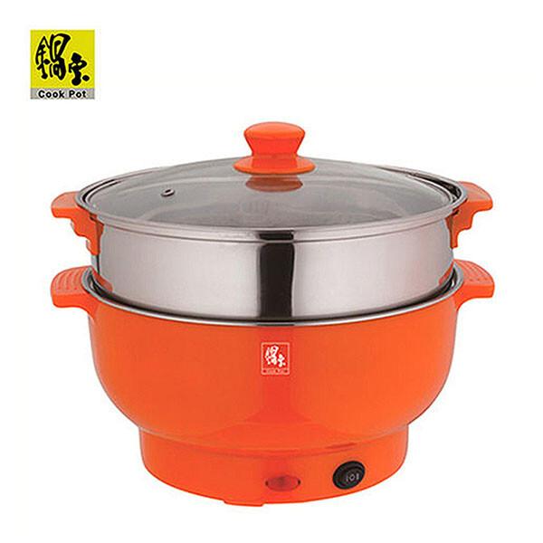 鍋寶3.5公升不鏽鋼多功能調理鍋贈蒸籠 ec-350-d 免運