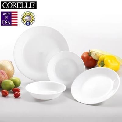 《CORELLE》美國康寧4件式餐具組 -純白 (8.4折)