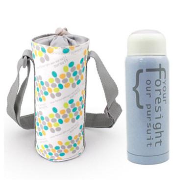 【I Do】304不鏽鋼真空保溫杯提袋組300ml-粉紫 CL-0029 (6折)