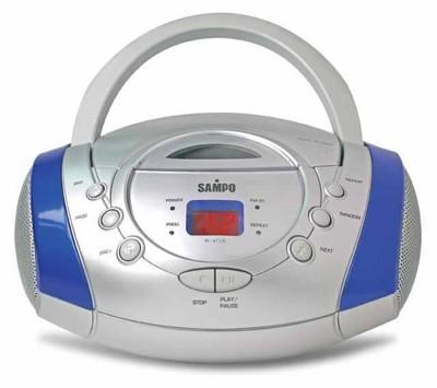 《聲寶》手提式CD音響 (AK-W710L) (5.3折)