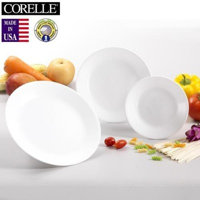 《CORELLE》美國康寧3件式餐具組 -純白 (6.5折)