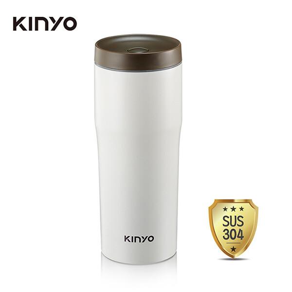 免運 kinyo 內膽304車用保溫杯(480ml) kim-37