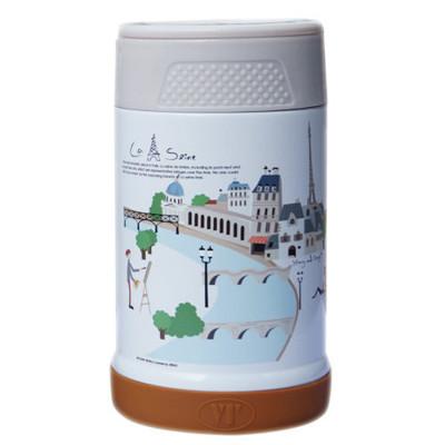 【S&D】唯美風景真空食物罐500CC SD-500-巴黎街景 (7.6折)