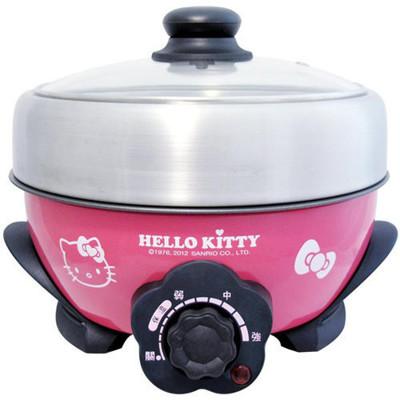 【Hello Kitty】2.2L不鏽鋼電火鍋KW-006S (8.7折)