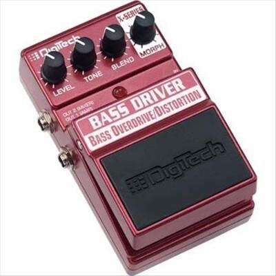digitech bass driver overdrive/ distortion 破音效果器[唐 (10折)
