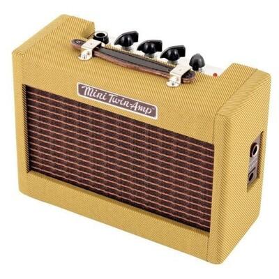 fender mini 57 twin-amp 電吉他迷你小音箱 9v電池/變壓器供電[唐尼樂器] (10折)