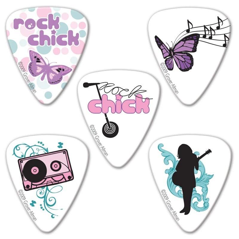 grover allman rock chick 烏克麗麗/木吉他/電吉他 pick 彈片 [唐尼樂