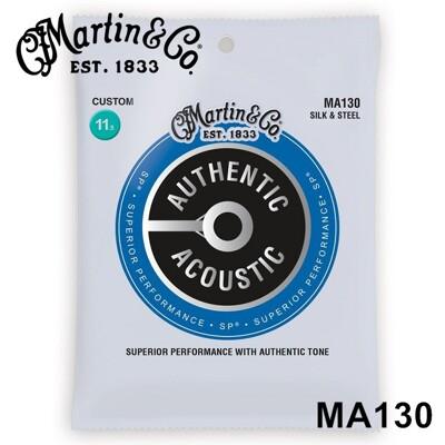 martin ma130 經典銀質軟弦木吉他/民謠吉他弦(史上最好按好彈的木吉他弦) m130[唐尼 (10折)