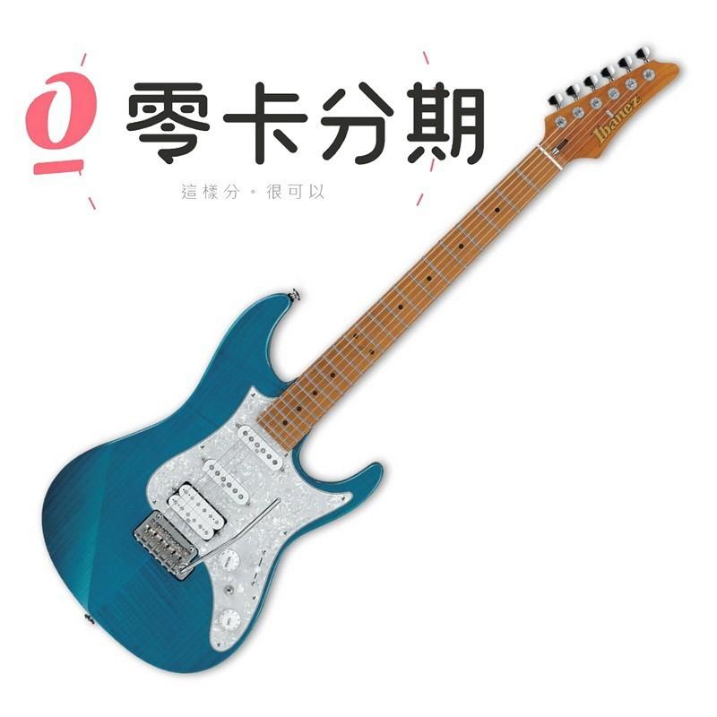 ibanez 日廠 az2204f-tab 透明水藍色 az 系列 電吉他[唐尼樂器] - 圖片色