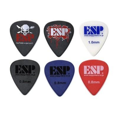 esp select picks 民謠吉他 電吉他 bass 用彈片 pick [唐尼樂器] (10折)