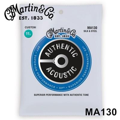 ☆唐尼樂器︵☆ Martin MA130 經典銀質軟弦木吉他/民謠吉他弦(史上最好按好彈的木吉他弦) (10折)
