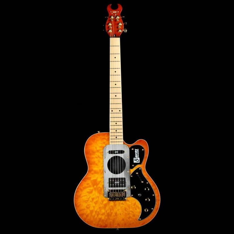 burns london steer semi-hollow 半空心 電吉他 唐尼樂器