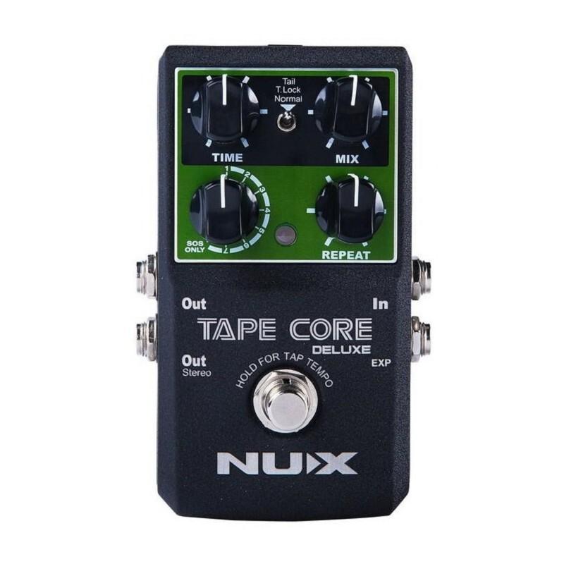 [公司貨免運] nux tap core deluxe 吉他 bass 磁帶 delay 延遲 效果