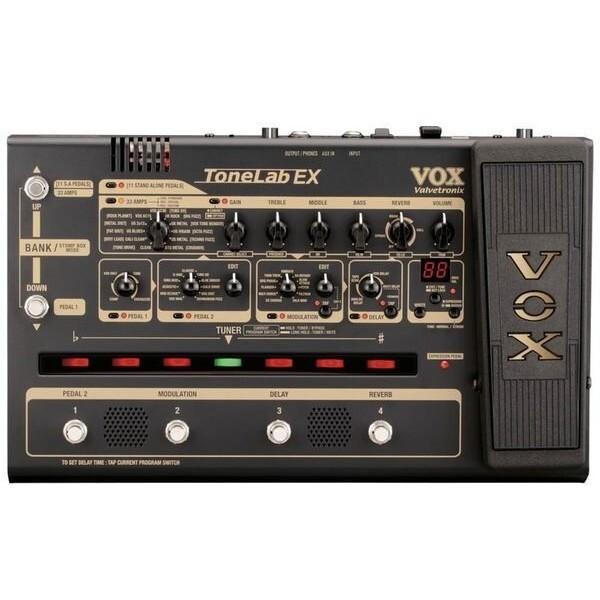 vox tonelab ex 電吉他綜合效果器/真空管前級(可當錄音卡直進電腦錄音)[唐尼樂器] -