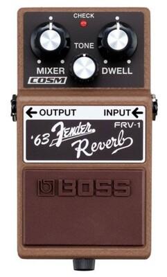 BOSS FRV-1 63' Fender Reverb 經典 音箱 模擬 空間 效果器[唐尼樂器] (9.1折)