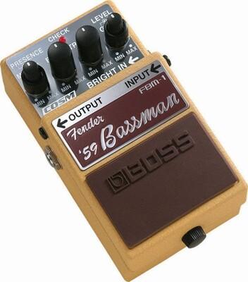 全新 Boss FBM-1 Fender '59 Bassman 音箱模擬 效果器[唐尼樂器] (9.1折)