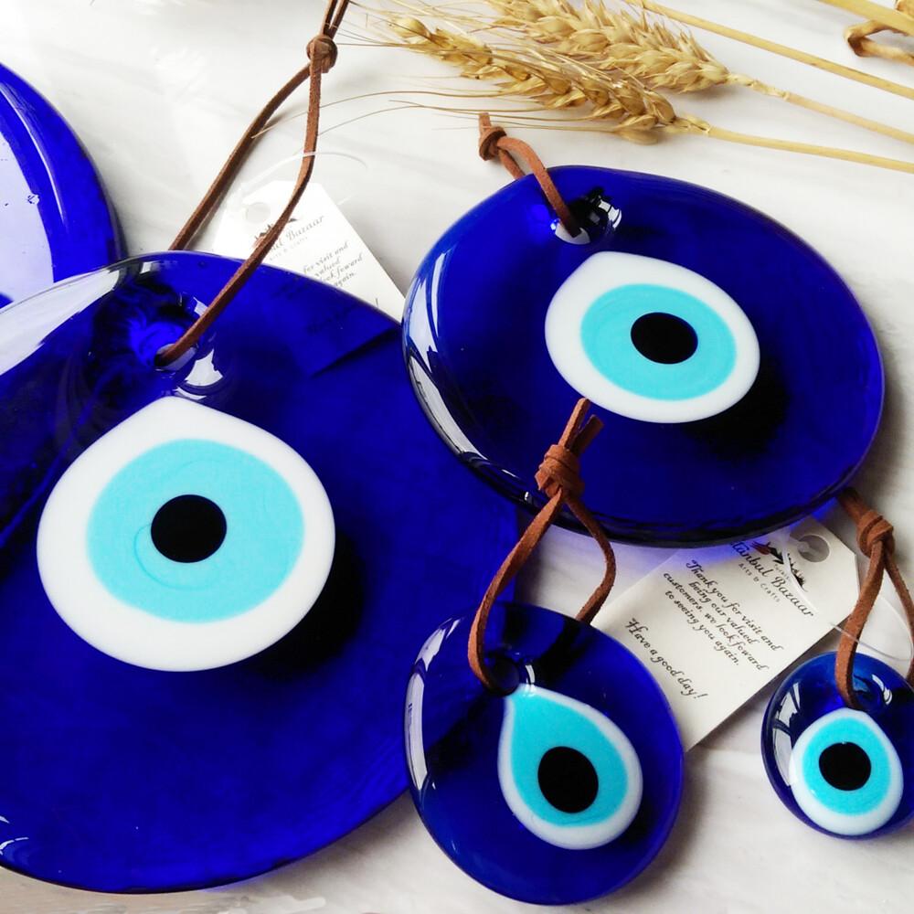 藍眼睛 惡魔之眼15cm防小人 幸運 避邪 鑰匙圈 吊飾 禮物 送禮 特別 異國 土耳其 希臘