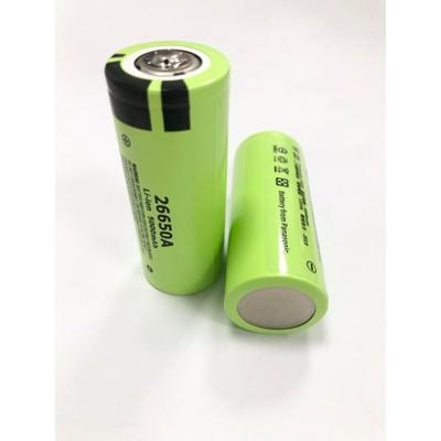 商檢合格  松下26650 容量5000mah 國際牌電池 bsmi認證 手電筒專用  國際牌 (7.5折)