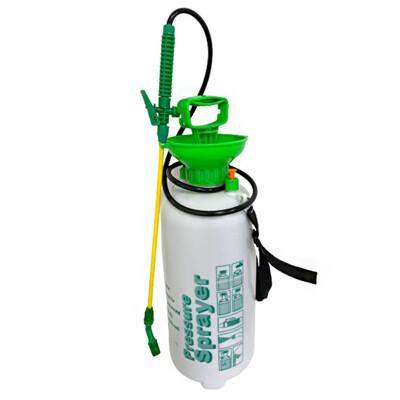 8公升氣壓噴霧器( 加贈銅桿) 8L噴霧桶 肩背式 噴霧器 手壓塑料噴壺 噴水壺 (8.7折)