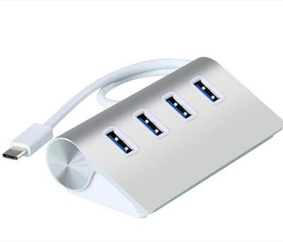 鋁合金USB 3.0 擴充HUB type C HUB 集線器 擴充器 (4.9折)