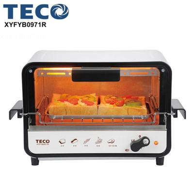 TECO東元9L防燙外取式電烤箱 XYFYB0971R (4.6折)