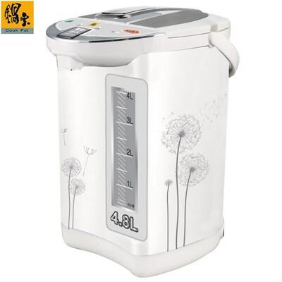 鍋寶 4.8l電動熱水瓶 pt-4808-d (4.9折)