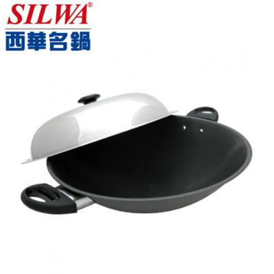 SILWA西華40cm冷泉超硬不沾炒鍋(雙耳) ASW-S40EN (5折)