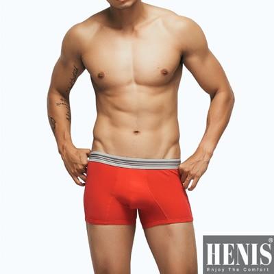 HENIS 時尚型男立體剪裁平口褲 隨機取色 (1.3折)