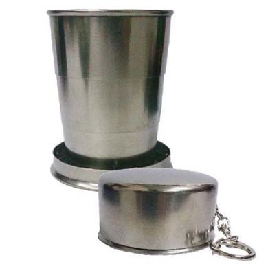 餐具 露營杯.#304材質不鏽鋼伸縮杯 (2.2折)