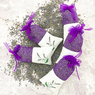 天然薰衣草乾燥花硅藻土除濕香氛包 (3折)